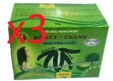 3 Boket Chumket Locust Powder Natural Herbal Shampoo Anti Dandruff Vietnam 10x10
