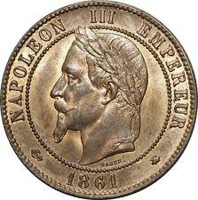 O1875 EXCEPTIONNELLE 10 Centimes Napoléon III 1861 A Paris FDC  !! ->Make offer