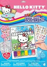 Hello Kitty Party Magic Paint Posters Kit Art Supplies Fun