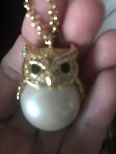 Kate Spade Owl Large Pendant