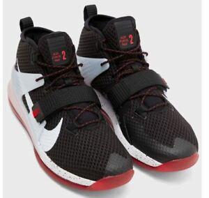 Nike Men's Air Force Max II Basketball Shoe Trainers AV6243 003 UK 9