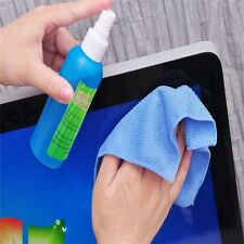 3 in1 TV PC Laptops LCD Monitor Screen Cleaning Set Cleaning Liquid+Cloth+Brush