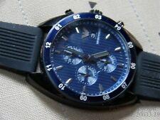 +BONUS-NEW CLASSY CHRONOGRAPH AR5930 EMPORIO ARMANI WATCH-$375+VAL