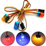 Police flash bright led light 13mm 5 modes 360° rotation for 1/10 rc TE