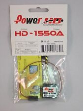 HD-1550A 5.5g High Performance Micro mini Servo by Power HD JR  Hitec Futaba