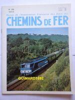 Chemins de fer n° 296 septembre 1972 revue de l'Afac Courant continu
