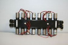 16 Asco Scientific Solenoid Valves P/N AM4124 V/30 PSI on Manifold