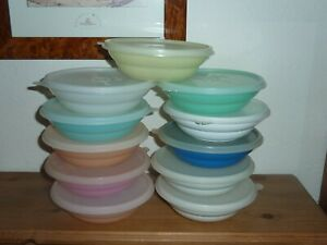 Vintage Tupperware Cereal Bowl Containers x 11