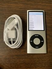 Apple iPod nano 4th Generation Silver (8 GB) Bundle