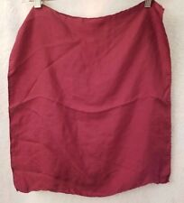 "All Silk by Ashear Burgundy Handkerchief Size 17.75"" x 18.5"""