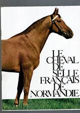 LE CHEVAL DE SELLE FRANCAIS DE NORMANDIE   hippisme cheval