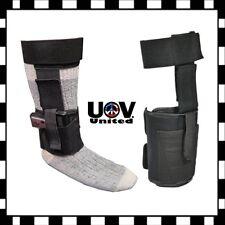 Concealed Carry Ankle Leg Gun Holster Magazine Bag For GLOCK 26 27 42 43 Pistol