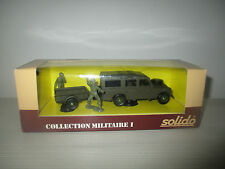 LAND ROVER COLLECTION MILITARE I N°6039 SOLIDO SCALA 1:43