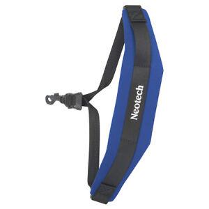 Neotech Soft Sax Strap Regular with Swivel Hook - Royal Blue