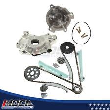 Timing Chain Water Pump Kit Oil Pump fits Ford 01-03 WINDSOR SOHC Mercury 4.6L