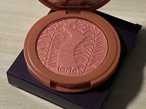 NIB TARTE Amazonian Clay 12 Hour Blush Glisten ~ Peachy Pink ~ $29 RETAIL!! NIB