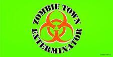 Lot de Vente en Gros 6 Zombie Ville Exterminator Bio-Hazard Vert Décalcomanie