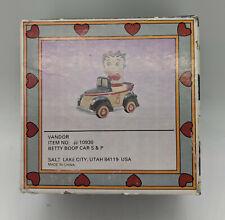New Betty Boop Car Salt & Pepper Shaker Set MFR # 10930 by Vandor
