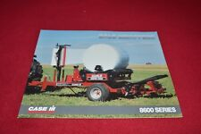 Case International Bale Wrappers For Round Baler Dealers Brochure YABE14