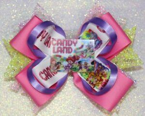 Candy Land Themed Handmade Hairbow Hair bow