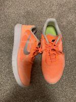 NIKE FREE 5.0 Girls US Size 6Y Fluorescent Orange Running Sneakers