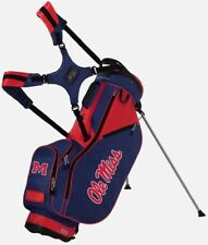 Sun Mountain Licensed Stand Bag - Ole Miss - Blue and Red