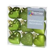 Adornos de color principal verde para árbol de Navidad