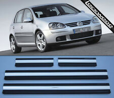 VW Golf Mk5 (approx. '03 to '09) 4 Door  Sill Protectors / Kick plates