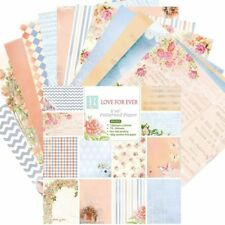 6 Inch Background Paper with Single Side Pattern For DIY Album Scrapbook Cards