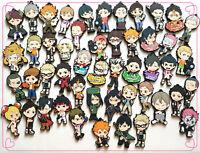 5pcs/set randomly send Anime Haikyuu!! haikyuu Keychain Key Ring Cosplay