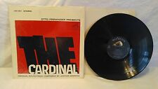 LP VINYL RECORD ALBUM OTTO PREMINGER PRESENTS THE CARDINAL SOUNDTRACK 1963
