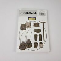 Butterick 5371 Sewing Pattern to MAKE Historic Wrist Bracer Corset Pouch Cosplay