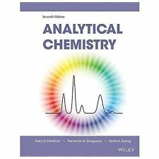 Analytical Chemistry by Christian (NEW, Hardcover, US 7th Edition)