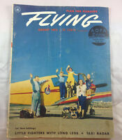 Flying Magazine Vintage Airplane Aviation Col Dave Schilling Flying Lears