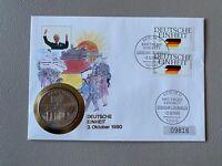 Geschichte - Numisbrief - Deutsche Einheit / 3. Oktober 1990