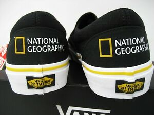 Vans National Geographic Then Now Glacier Limited Mislabeled  Mens 9.5 Womens 11