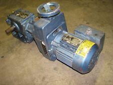 gear motor sew eurodrive df12bdt7104 230/460 volt 3-phase 15 17:1 gear