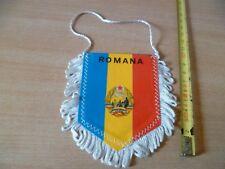 (B38) PETIT FANION DE FOOTBALL    ROMANA