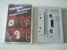 THE ISLEY BROTHERS WINNER TAKES ALL LONG PLAY CASSETTE TAPE EPIC CBS UK 1979