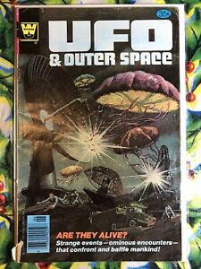 UFO and Outer Space #14 1978 Whitman