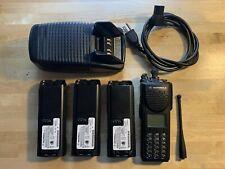 Motorola Xts3000 P25 Digital Uhf Mod 3 Radio With 3 Batts Amp Original Charger