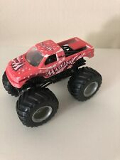 *RARE* Hot Wheels Monster Jam Truck 1:64 MADUSA Color Shifter Pink to White VHTF