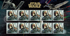 Star Wars Decimal Great Britain Stamps