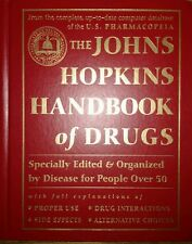 Johns Hopkins Medical Handbook Of Drugs For People Over 50 1st Edition Hardcover