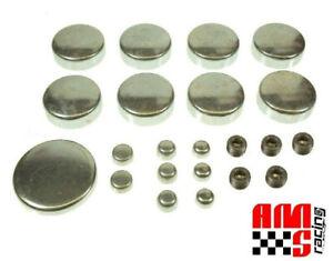 Steel Expansion Freeze Plug Kit Chevrolet SBC 5.7L 283 302 305 307 327 350 383