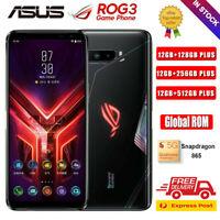 ASUS ROG Phone 3 12GB 512GB Snapdragon 865 Unlocked Gaming Smartphone Global Rom