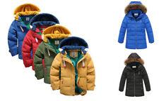 Giacca elegante in inverno per bambini dai 2 ai 16 anni
