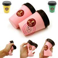 Cute Squishy Slow Rising Jumbo 11CM Coffee Cup Phone Strap Kids Fun Toy Gift