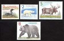 1989,2003 Canada SC#1687-97-Wildlife Definitives High Values -4 Stamps - M-NH