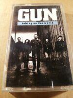 Gun : Taking On The World : Vintage Tape Cassette Album from 1989